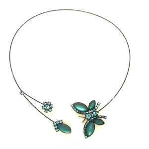"Butterfly ""Halo"" Necklace"